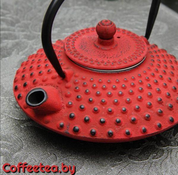 Чайник чугунный с ситом, 800мл