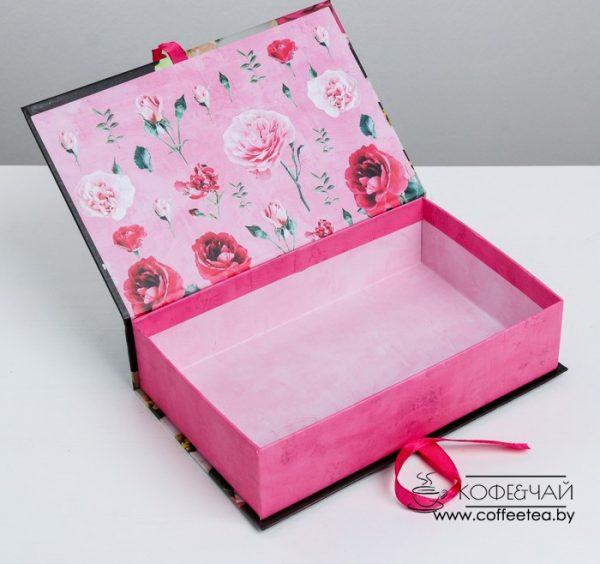 Коробка-книга «Повод для счастья и улыбок»