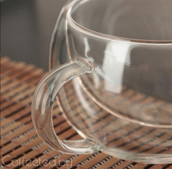 Кружка с двойным стеклом, 180мл