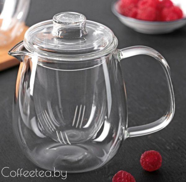 Чайник заварочный стеклянный, 400мл