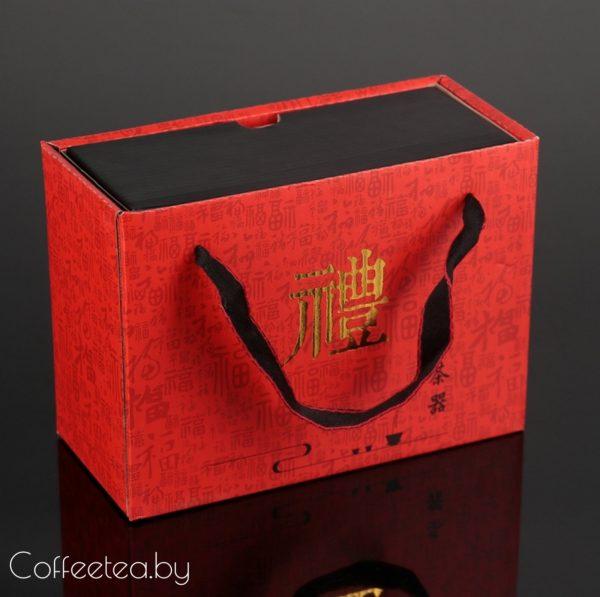 Набор для чайной церемонии (черный), 7предметов