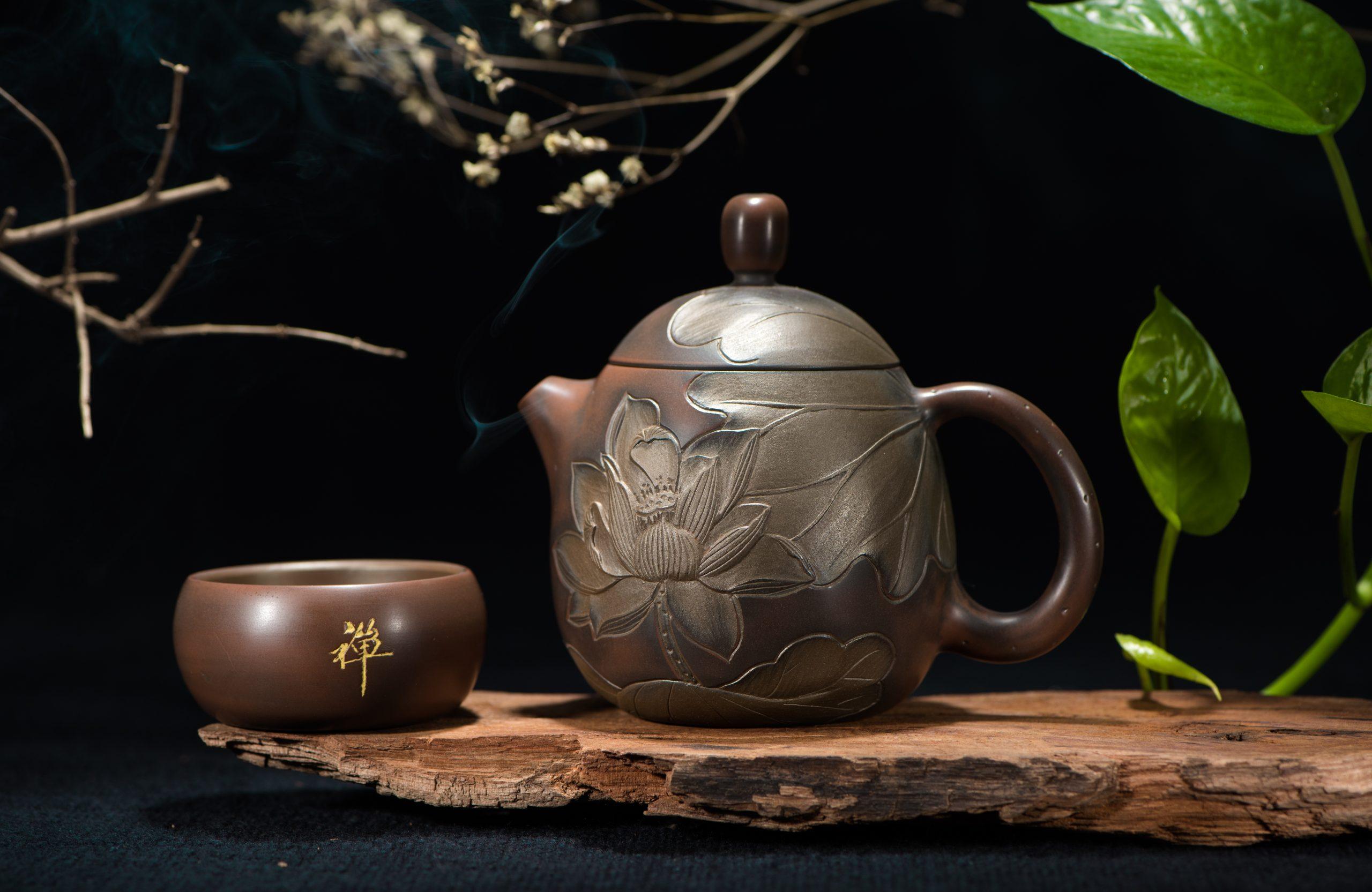 teapot ceramic lighting still life painting tea set art tea ceremony still life photography  scaled