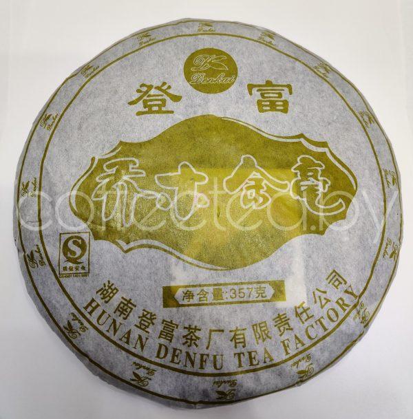 ШУ пу-эр, 357г, [2006; Юньнань; Denfu Tea Factory] (San Nian Pu Er), 3 года