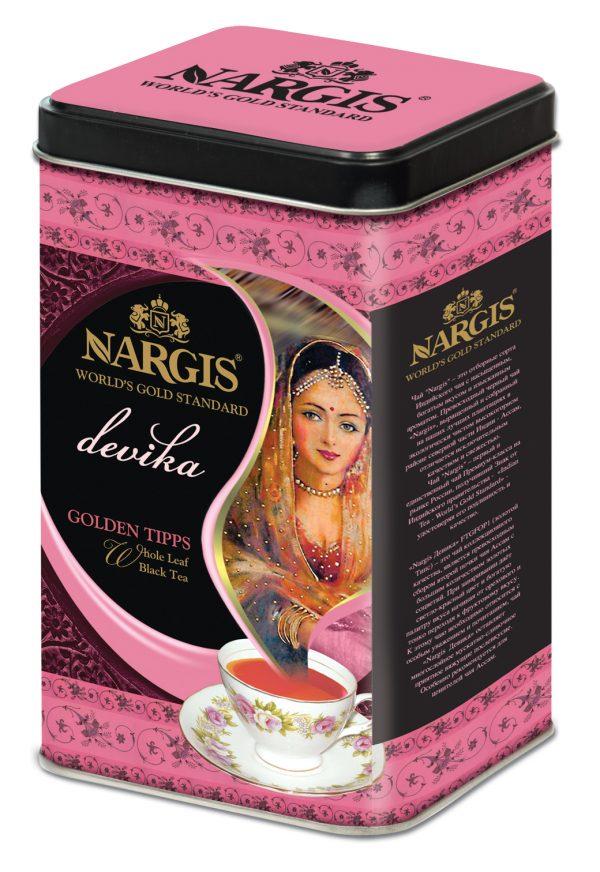 Индийский чай Nargis DEVIKA TGFOP (Golden Tips) 200гр