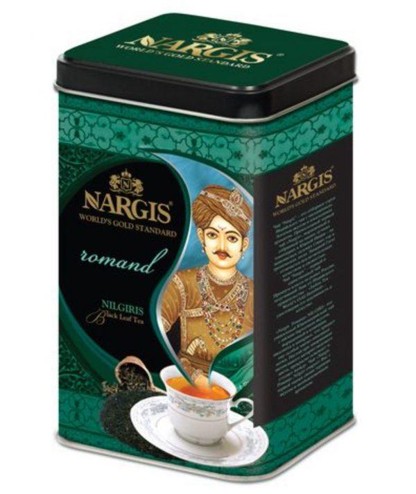 """Индийский чай Nargis """"Романд"""" Нилгири 200гр"""